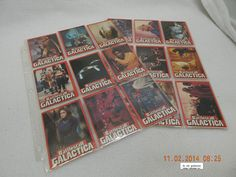 BATTLESTAR GALACTICA TRADING CARDS! SET OF 36! UNIVERSAL STUDIOS-1978! AS IS!