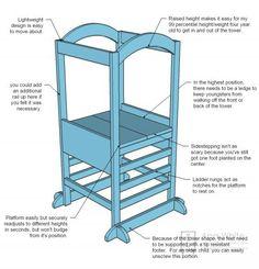 Diy toddler safe helper stool plans