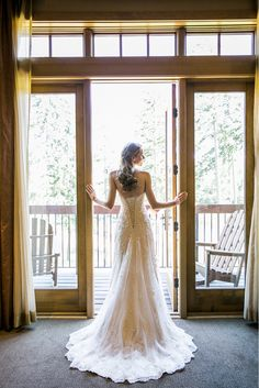 Story about a bride's Maggie Sottero wedding dress! #wedding #weddingdress