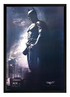 Batman Framed Movie Poster Print 24x36 On a black frame Made in USA >>> You can find out more details at the link of the image.Note:It is affiliate link to Amazon.