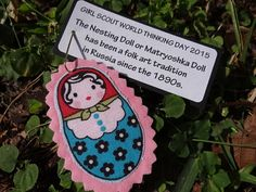 10 Russian Nesting Doll or Matryoshka Doll Girl - This SWAP kit is perfect for WAGGGS World Thinking Day.  Since the 1890s, the Russian nesting doll, also called a Matryoshka doll, has been an enduring symbol of Russian culture, a treasured piece of folk art, and a popular toy and collectible for people all over the world.