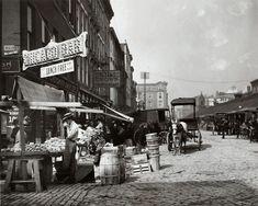 Court Street Market, founded 1829. Cincinnati, OH.