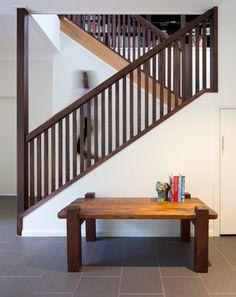 Queenslander, Fig Tree Pocket - contemporary - Staircase - Brisbane - Elaine McKendry Architect