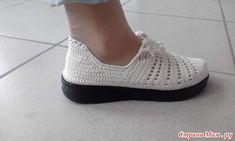 "Женские туфли"" Бохо шик "" Crochet Sandals, Crochet Slippers, Crochet Flip Flops, Spring Boots, Shoe Pattern, Flip Flop Shoes, All Black Sneakers, Espadrilles, Shoes Sandals"