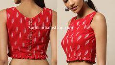 Readymade Ikat Cotton Blouse designs, shop cotton blous for sarees online, formal saree blouse designs, office wear saree blouse pattrens Cotton Saree Blouse Designs, Stylish Blouse Design, Choli Designs, Fancy Blouse Designs, Bridal Blouse Designs, Saris, Design Online Shop, Bollywood, Designer Blouse Patterns