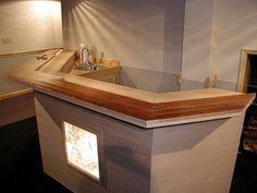Simple Bar Rail Molding Ideas ~ http://lovelybuilding.com/bar-rail-molding-in-your-dining-room/