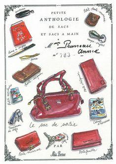 Petite Anthologie de sacs et sacs à main : Mme Lulu