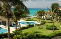 Playa del Carmen, QROO: Luna Encantada Villas is a brand new 24-unit oceanfront condominium development and  Xaman Ha Condominiums feature newly remodeled, upscale, oceanfron...