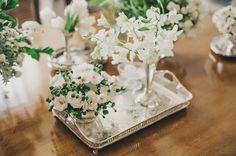 Decoração Encantada-Sofisticada-Alegre Casamento Verde e Branco Foto: Renata Xavier Decor: Tais Puntel Blog: Vestida de Noiva