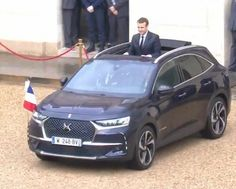 See the car new French president Emmanuel Macron used for his inauguration French President, Emmanuel Macron, Citroen Ds, Cars And Motorcycles, Presidents, Automobile, Father, France, Entertainment