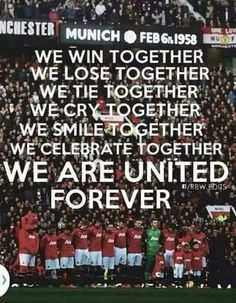 20 Best Man United Quotes Images Man United Manchester United Football Club Manchester United Football