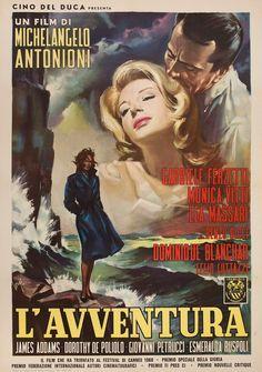 L'Avventura 1960 Italian Due Fogli Poster