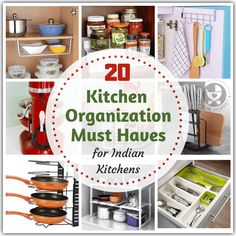 Is your kitchen overcrowded and spilling over with pots, pans and all sorts of cooking gadgets? Control the mess with these kitchen organization must haves! Cooking Gadgets, Kitchen Gadgets, Kitchen Furniture, Kitchen Decor, Kitchen Ideas, Furniture Stores, Modern Outdoor Kitchen, Kitchen Modular, Kitchen Organisation