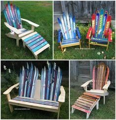 Charming New England Ski Chairs   New Hampshire Ski Furniture Products | Ski  Furniture | Pinterest | Hampshire And Cabin