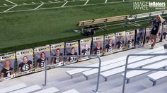 Awesome lookin' Southeast Football player banners! #southeast #knights #highschool #football #banner