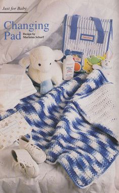 Baby's Changing Pad Crochet Pattern