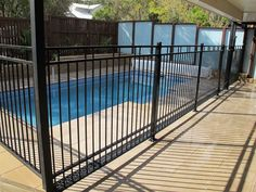 Scenic Scapes Landscaping - Fences & Screens Aluminum Pool Fence, Fence Around Pool, Fence Screening, Garden Maintenance, Fence Design, Fences, Deck, Landscape, Gallery