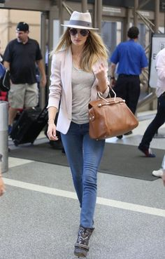 How to Steal Rosie Huntington-Whiteley's Street Style