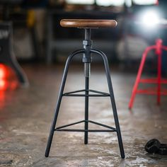 The INDY Original Swing Arm Stool is sand cast from iron using the best materials to produce high quality castings. Restaurant Seating, Adjustable Stool, Sand Casting, Vintage Industrial Furniture, Welding Projects, Bar Stools, Indie, The Originals, Benches