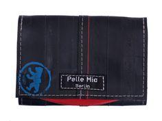 Portemonnaie aus Fahrradschlauch und Plane von Pelle Mia aus Berlin bei Kult-Design-Unikate