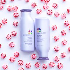 Indulge in a luxurious lather with an amazing peppermint scent. This holiday season, give your friends the gift of great hair with the help of Pureology Hydrate