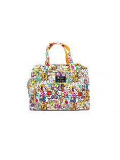 I'll probably be that crazy mom with the absurdly awesome designed diaper bag. Wish it wasn't $188. tokidoki x Ju.Ju.Be Be Prepared Diaper Bag Farfalle