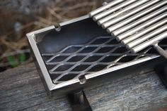 Items similar to 510 HD Hibachi Grill on Etsy Hibachi Grill, Bbq Grill, Grilling, Wood And Metal, Heavy Metal, Camping Box, Fire Pit Grill, Welding And Fabrication, Bbq Ideas