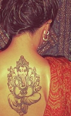 The placement and depiction of this Ganesha is what I will be getting in November.