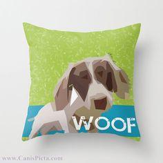 Dachshund Dog  Woof Graphic Print