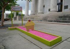 It's back! The Downtown Open putt putt miniature golf course around and off the courthouse square in downtown Huntsville is back for another round of play. The course consists of 27 unique holes sponsored by local businesses and presented by...