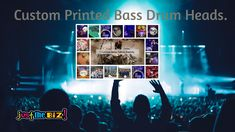 we can custom print on lots of products. we have a great range of products for custom and logo printing. So please have a look around our store, we have bass drum heads, button badges,keyrings, and much much more. Custom Bass, Drum Heads, Bass Drum, Drums, Band, Printed, Movie Posters, Sash, Percussion