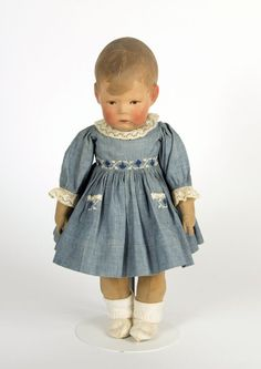 78.13911: Doll I | doll | Dolls from the Early Twentieth Century | Dolls | National Museum of Play Online Collections | The Strong