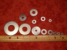 Sew Many Ways...: Tool Time Tuesday...Applique Circles With Washers