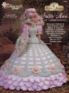 Sally-Ann-of-Charleston-Doll-Clothes-Crochet-Pattern-972501-TNS-30-Day-Layaway