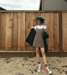 50 Stylish Ways to Layer your Outfits like a Pro Outfit Ou. - Street Style - Best Of Women Outfits Indie Outfits, Grunge Outfits, Fall Outfits, Cute Outfits, Dress Outfits, 90s Grunge, Fashion 90s, Korean Fashion, Fashion Outfits