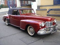 Ford Motor Company, Vintage Cars, Antique Cars, Vintage Auto, Lincoln Convertible, Classy Cars, Lincoln Continental, Us Cars, Custom Cars