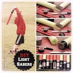 DIY Light Sabers | Jasey's Crazy Daisy
