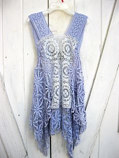 0558ff1f5eb2 Vintage lace is repurposed to make a one-size-fits-most boho camisole
