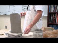 Altering Clay Cylinder Techniques - YouTube