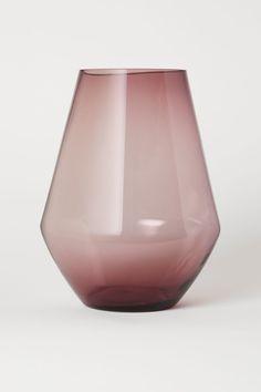 Large Glass Vase - Dark red - Home All Small Glass Vases, Wine Glass, Vase Rouge, Mini Vase, Grand Vase En Verre, Earthy Home Decor, Metal Photo Frames, Fragrant Candles, Grands Vases