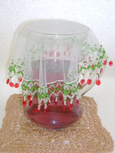 modelos de cubre jarras y vasos en organza - Buscar con Google