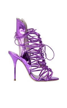 Make a style statement with Sophia Webster's lacey metal leather sandal, available here --> http://www.bagheeraboutique.com/en-US/designer/sophia_webster