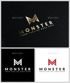Monster Egg Logo Template @creativework247 | Templates - Templates ...