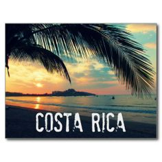 Costa Rica Beach Postcard - Sold 500 Costa Rica postcards - thank you to the customer in NY! #costarica