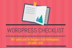 Cette infographie recense les points à respecter avant de mettre votre site WordPress en production