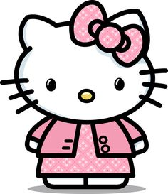 Oh lord, Hello Kitty doesn't have a  mouth!