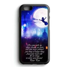 Peter Pan Fly Quotes iPhone 7 Case