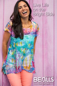 e1239f86951 Live life on the bright side with fun prints and colorful designs from  Leoma Lovegrove