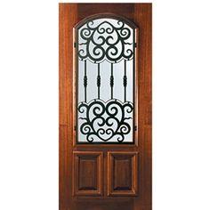 Best Wi Ka Valencia Al 68 1 2 Wood Entry Doors Custom Wood 400 x 300