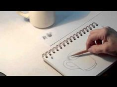 Art Tips 1 - How to Draw a Coffee Cup Step by Step - Art Student Academy - YouTube